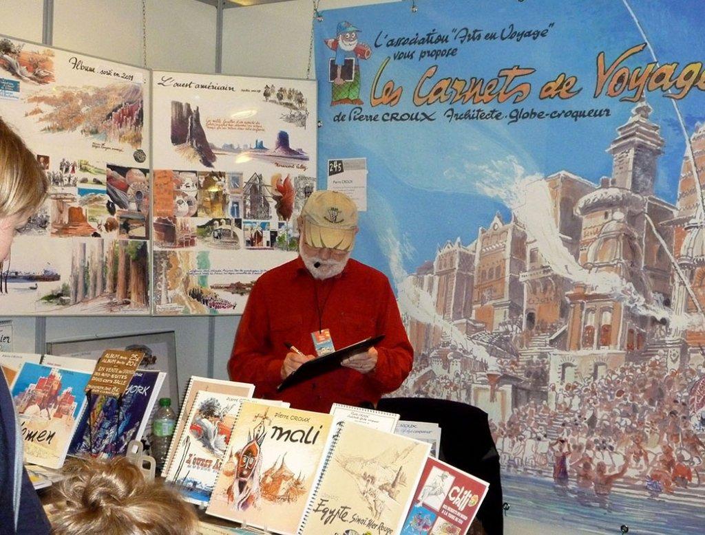 Salon du Carnet de voyage de Clermont-Ferrand